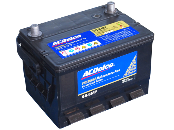 ACDELCO バッテリー 58-6MF