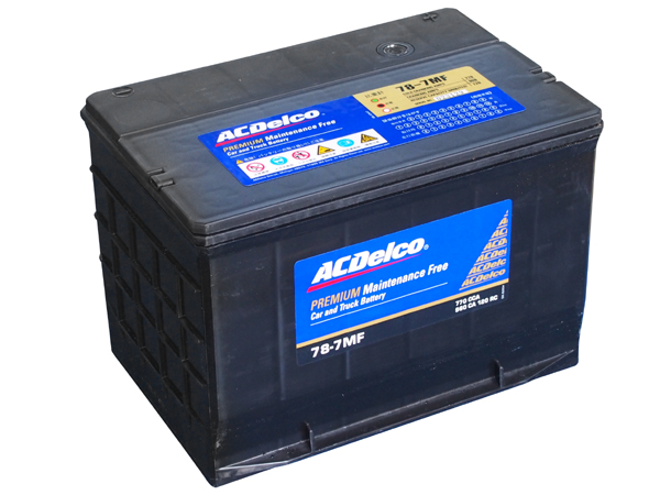 ACDELCO バッテリー 78-7MF